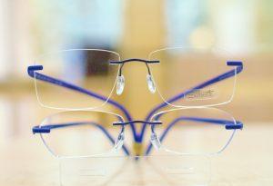 シルエットメガネ レンズサイズ 画像